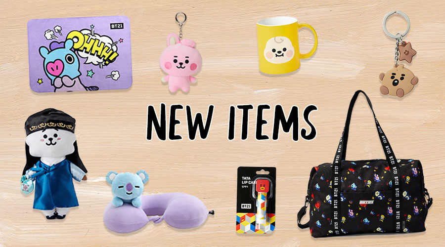 BT21 PLAY LINE FRIENDS Merchandise