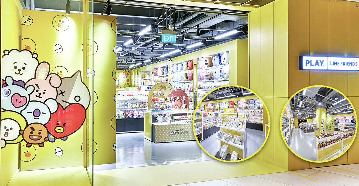 PLAY LINE FRIENDS Store Singapore